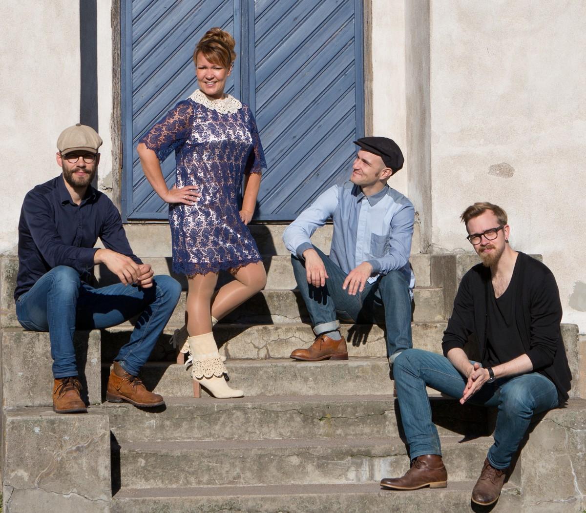 Vilmat Timonen Quartet Cafe Piritassa Helsingissä 16.9.
