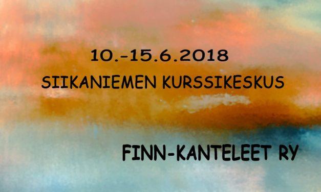 Lahden kanteleleiri 10.-15.6.2018