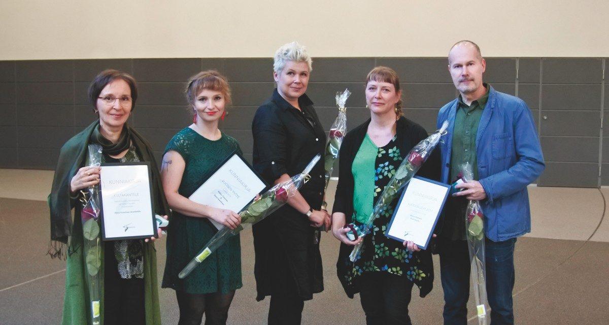 Kanteleliiton tunnustukset vuonna 2018 – Paleface valitsi vuoden kantelelevyn