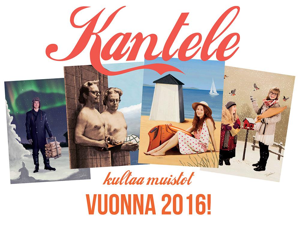 Tilaa Kantele kultaa muistot 2016 -seinäkalenteri vielä ennen uutta vuotta!