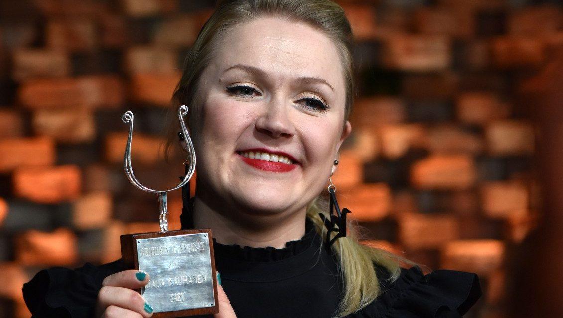 Kritiikin Kannukset -palkinto Maija Kauhaselle