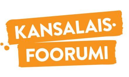 Kansalaisfoorumin tuet vuodelle 2018 haettavissa joulukuusta lähtien